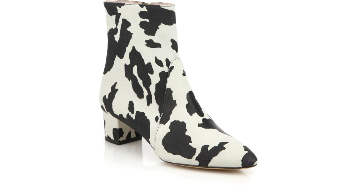 Boutique Moschino Cow-print Leather