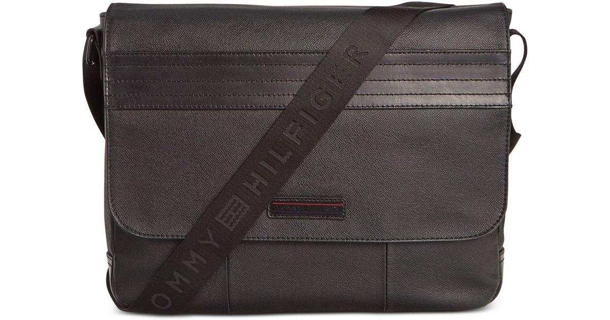 1674bfc0dabe Lyst - Tommy Hilfiger Morgan Messenger Bag in Black for Men