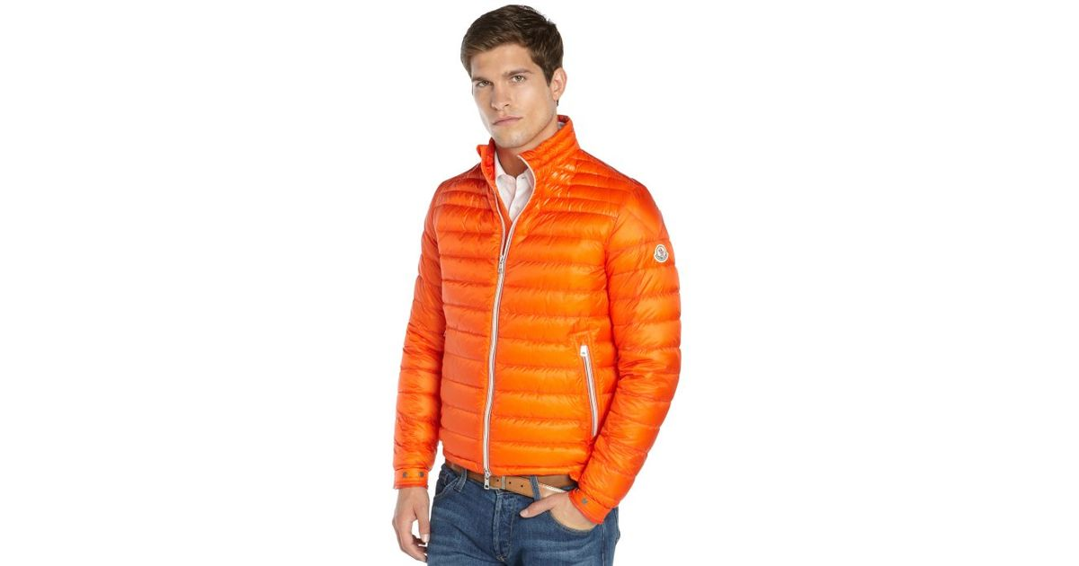 moncler Outerwear Orange