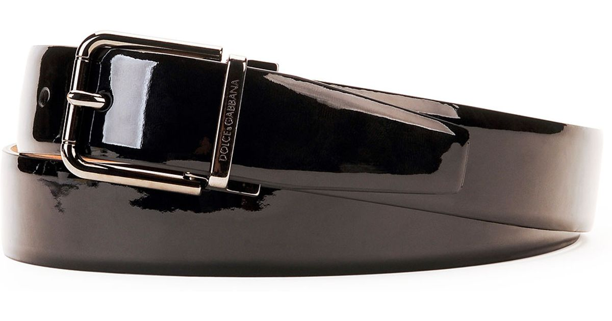 Black Patent Leather Work Shoes
