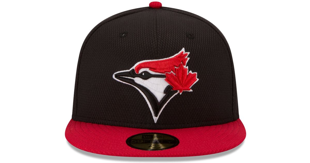 cheap for discount c8b41 ccd1b ... low price lyst ktz toronto blue jays 2015 home run derby 59fifty cap in  black for