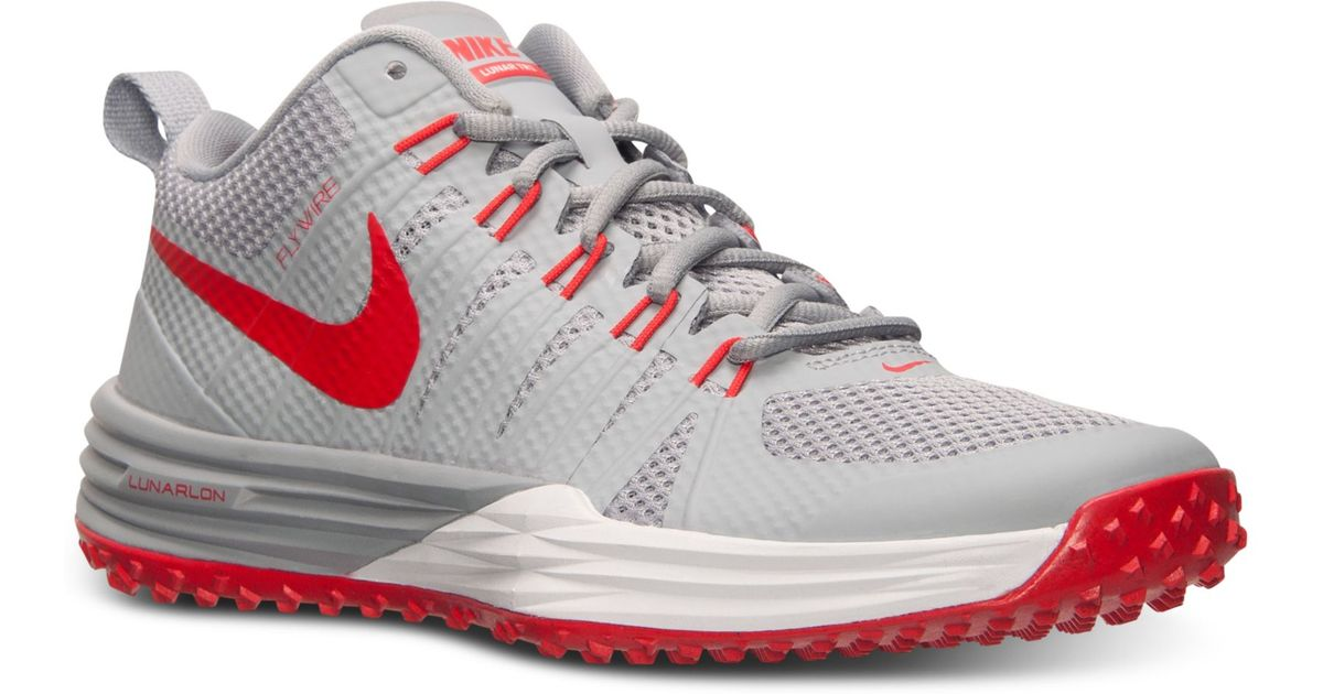 6827ec8f9953 Lyst - Nike Mens Lunar Tr1 Training Sneakers From Finish Line in Gray for  Men