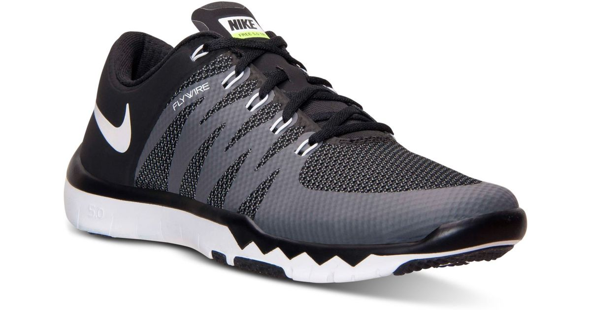 new styles 6f4fd 4d776 Lyst - Nike Men s Free Trainer 5.0 V6 Training Sneakers From Finish Line in  Black for Men