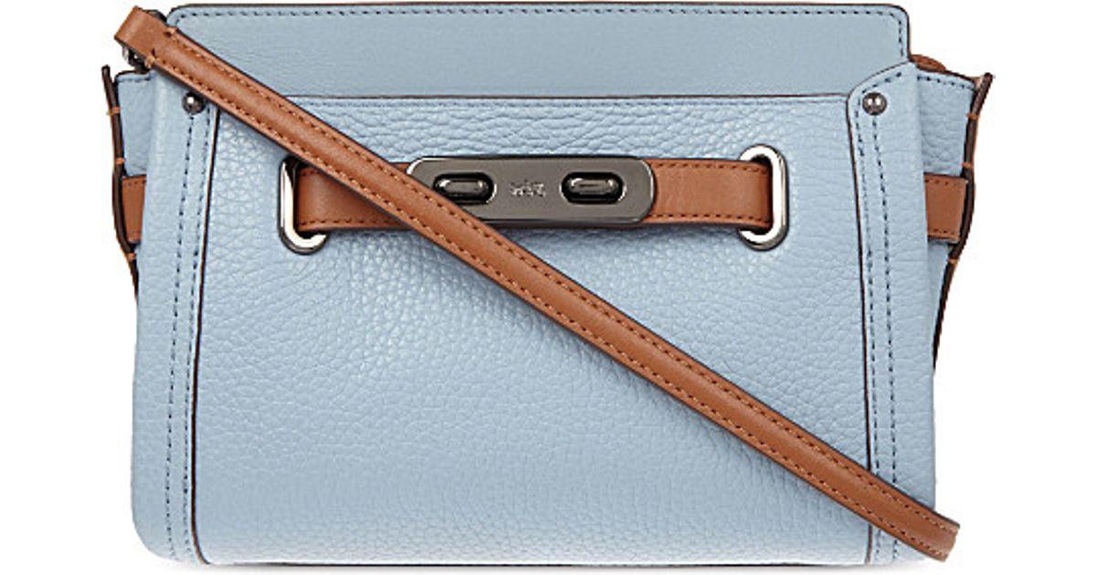 e081cc54 COACH Multicolor Swagger Leather Cross-body Bag