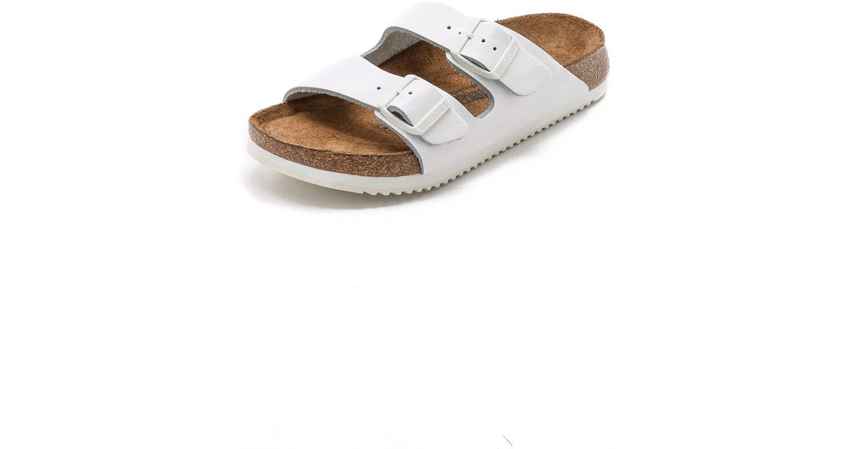 birkenstock london white supergrip