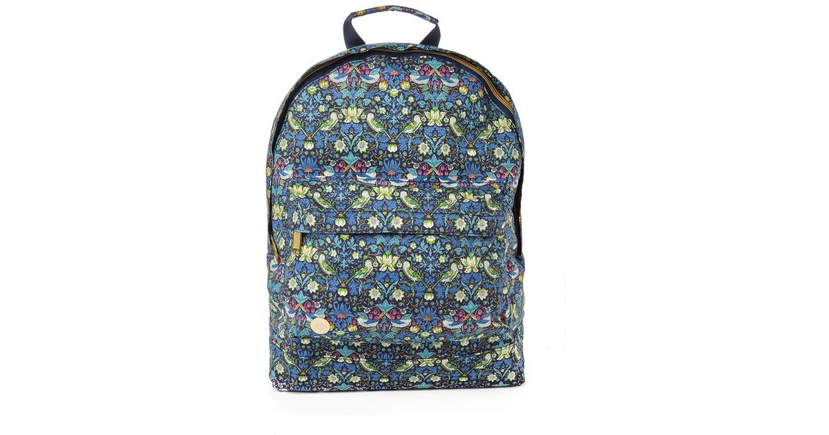 Lyst - Mi-Pac Strawberry Thief Backpack In Liberty Fabric - Multi for Men 76932ee33698e