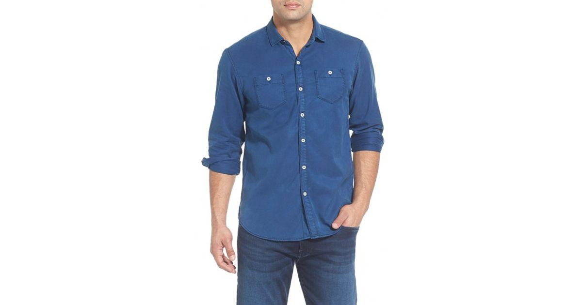 Tommy Bahama Sea Twill Island Modern Fit Flannel Shirt