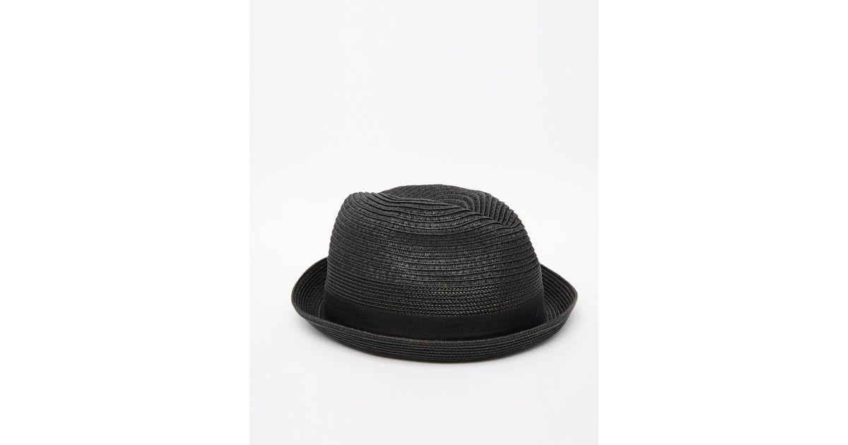 0888189274f Lyst - DIESEL Citsuyer Trilby Hat in Black for Men