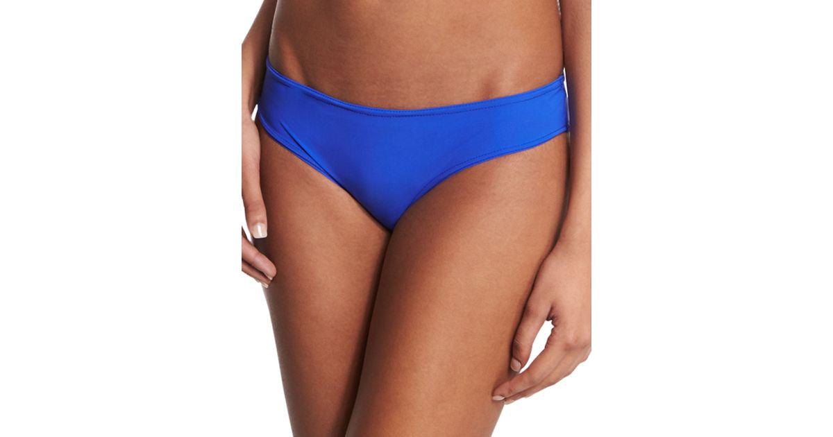 Karla colletto Basic Hip Pant Swim Bottom in Blue