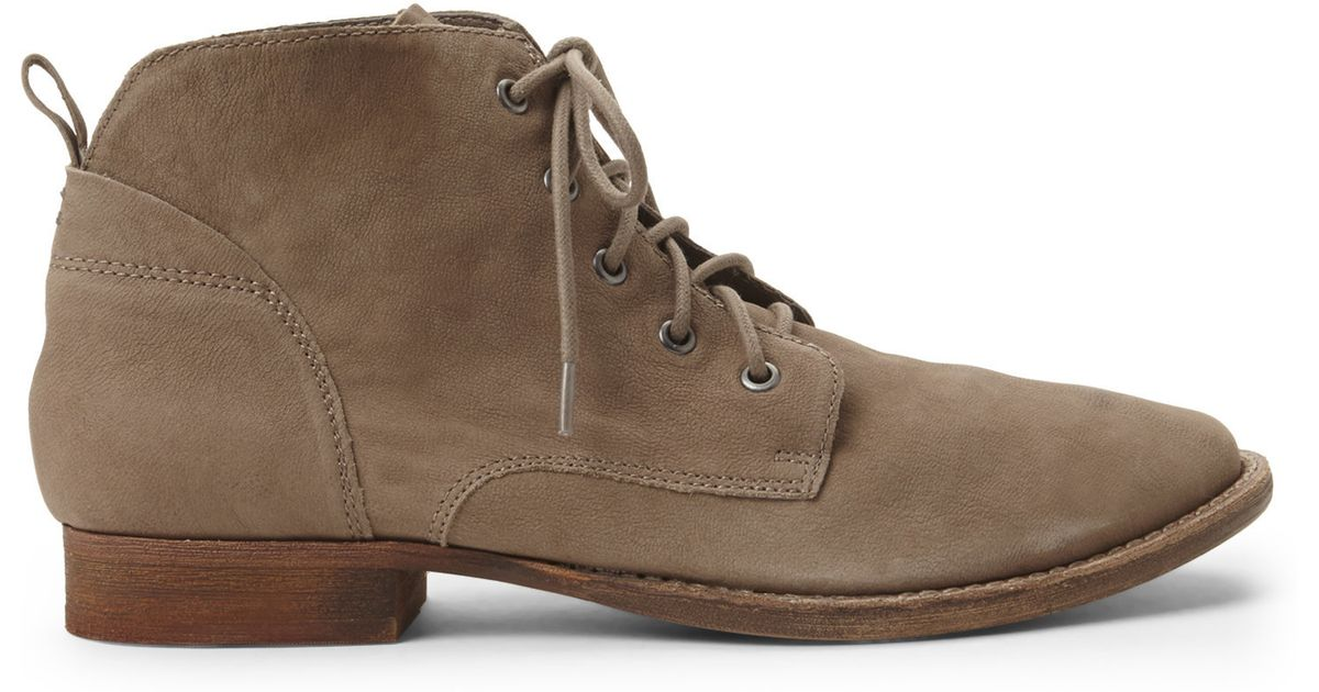 480debc00143 Lyst - Sam Edelman Putty Mare Lace-Up Boots in Brown