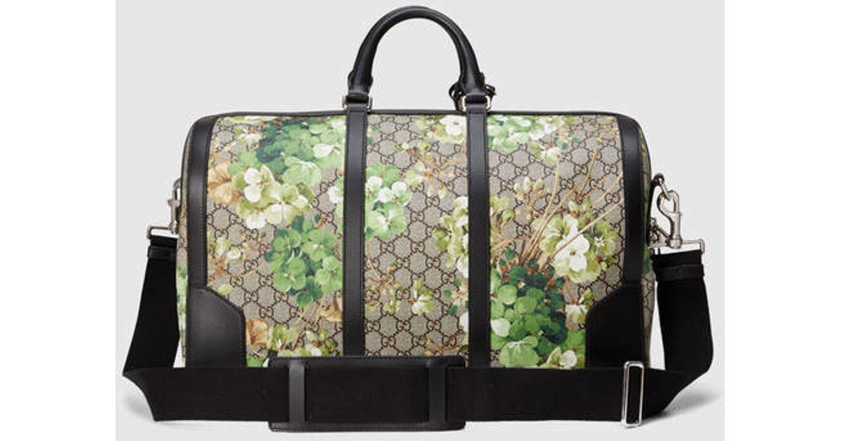 03597f99e10e Gucci Gg Blooms Duffle for Men - Lyst