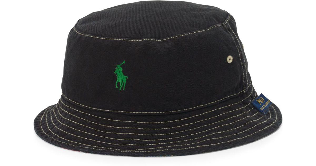 3c81825fb98 Lyst Polo Ralph Lauren Flamingo Print Reversible Bucket Hat For Men