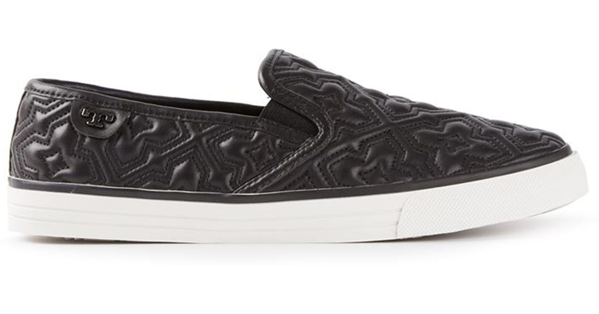tory burch quilted sneakers