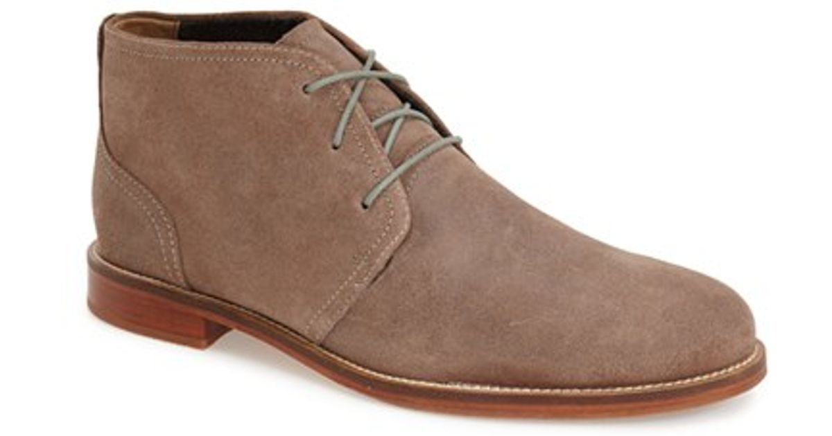 j shoes monarch plus chukka boot in brown for