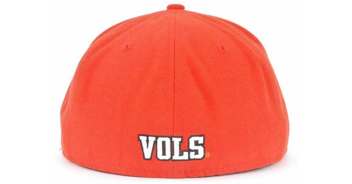 sports shoes 54cb7 db081 Lyst - KTZ Tennessee Volunteers Ncaa 2 Tone 59Fifty Cap in Orange for Men