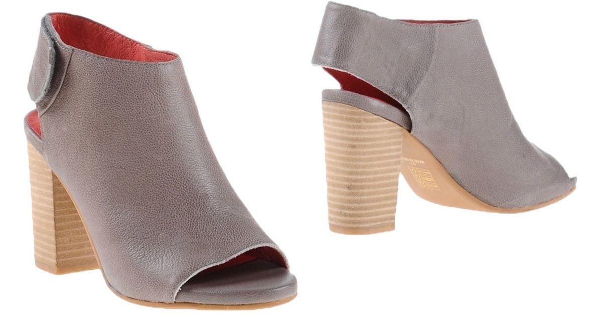 jeffrey cbell shoe boots in gray lyst