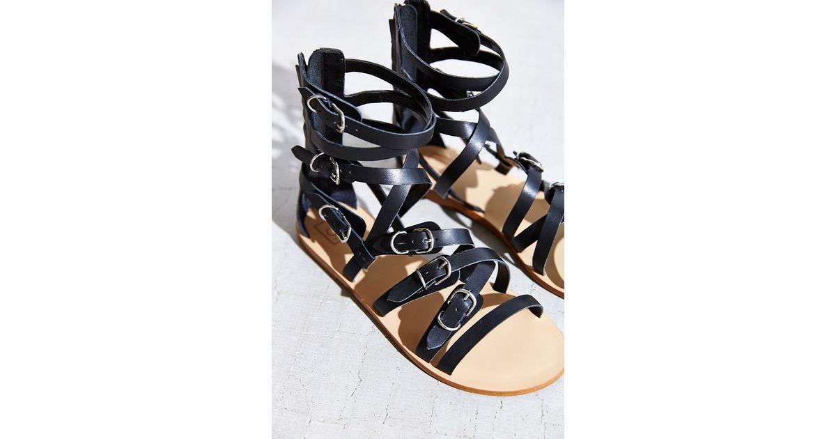 4d120c5bb2c7c0 Lyst - Dv By Dolce Vita Okena Gladiator Sandal in Black