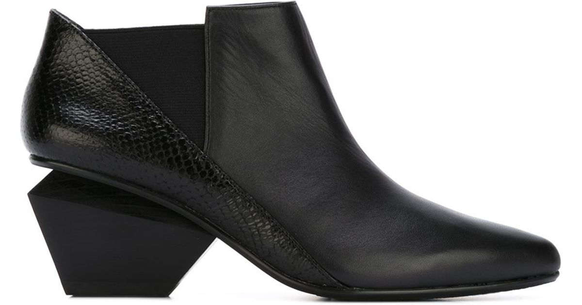 f9a26019cb8 United Nude  jackie  Boots in Black - Lyst