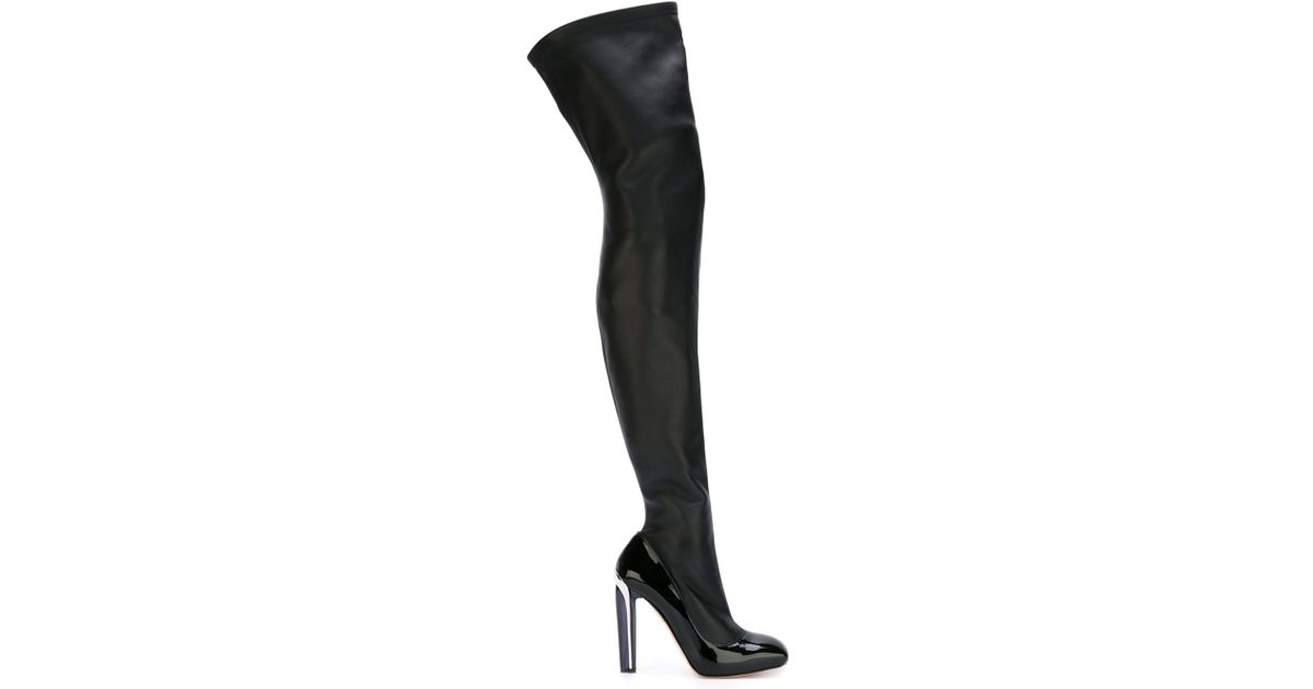 release dates sale online discount fast delivery Alexander McQueen knee high boots M1D497ZN