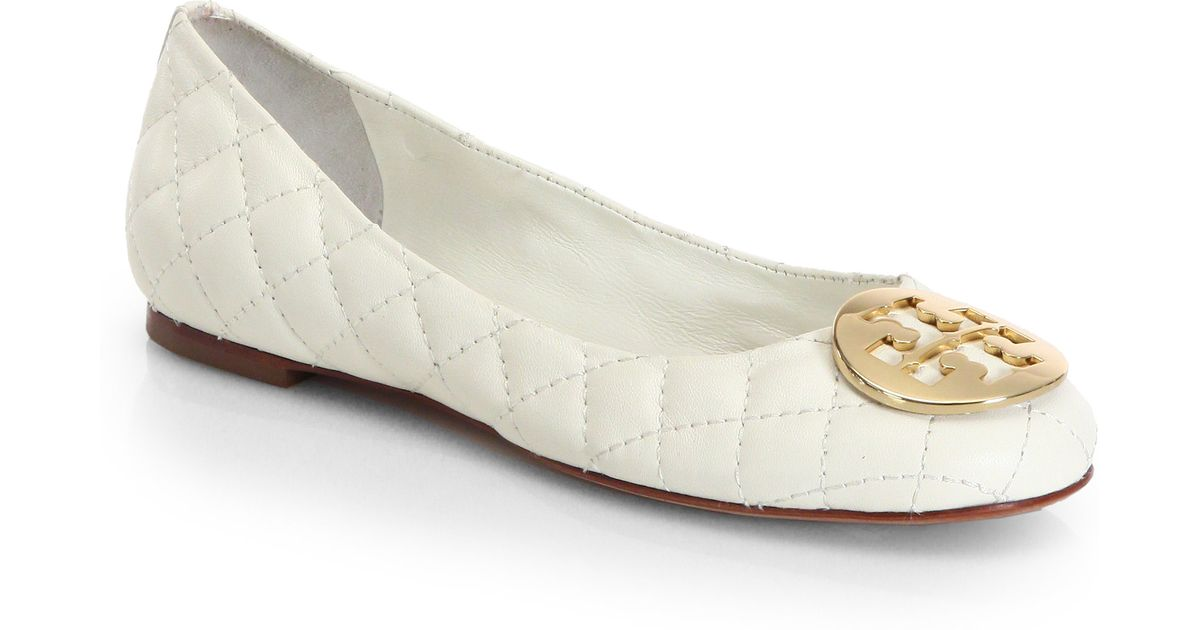 Tory Burch Quinn Quilted Leather Ballet