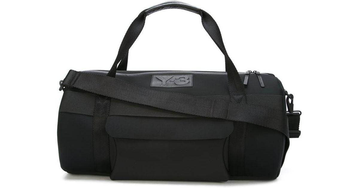 Y 3 Black Day Gym Bag For Men