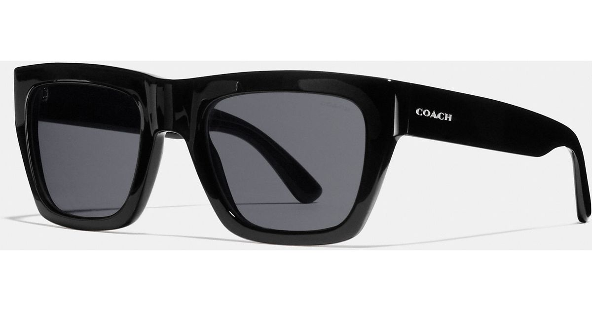 3366a778a7 ... germany coach commander sunglasses in black for men lyst 23e59 220c8