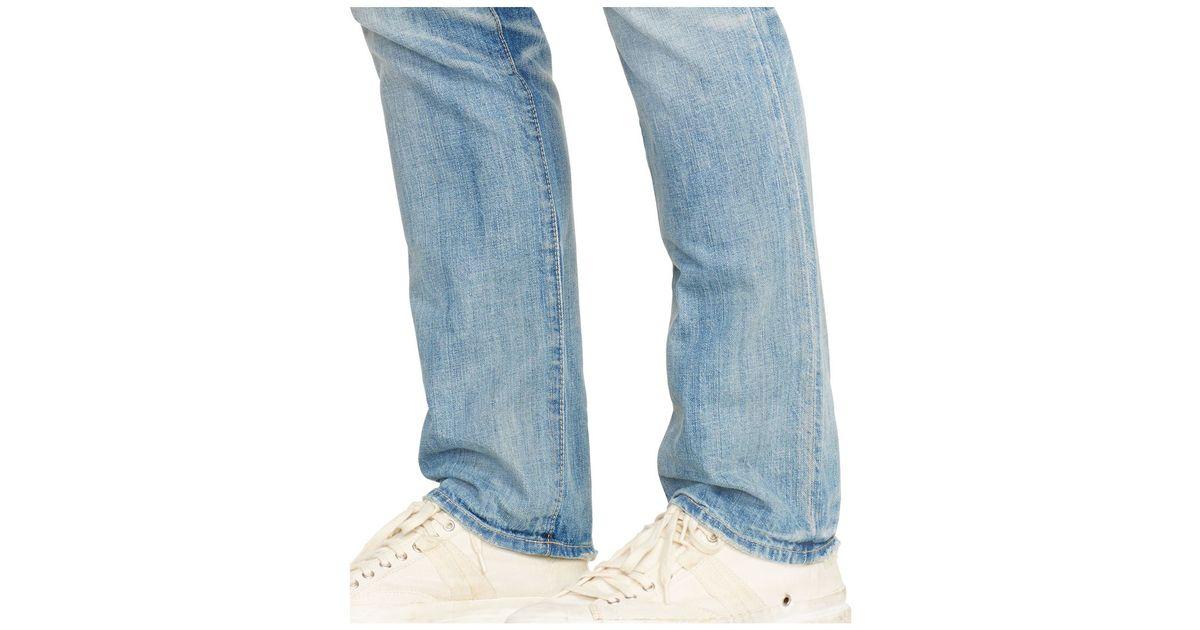 08f221d62f8f6 Lyst - Polo Ralph Lauren Men s Slim-fit Lightweight Sherman-wash Jeans in  Blue for Men