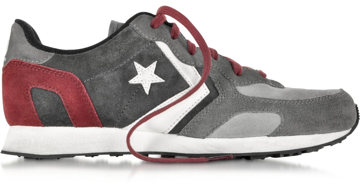 Converse Auckland Racer Trainers in Dark Grey in Dark Grey