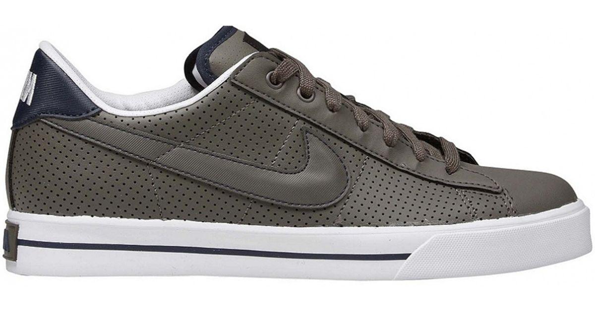 Nike Sweet Classic Leather in Smoke