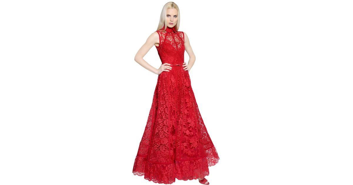 Elie Saab Red Dresses