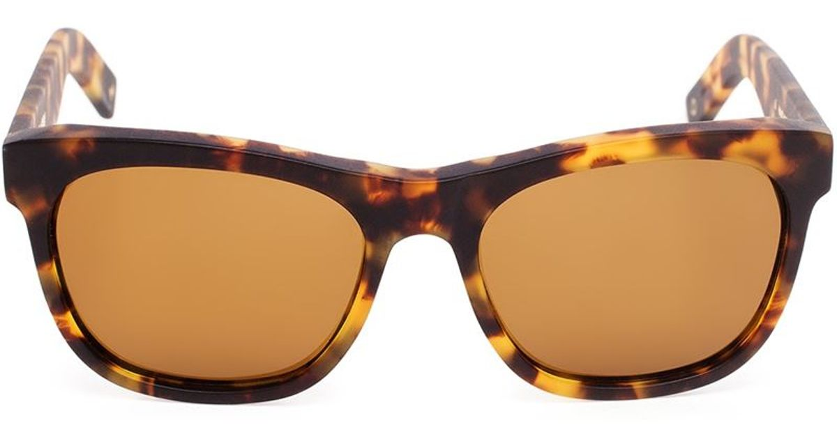 2289943ffb3 Dick Moby  lax  Tortoiseshell Sunglasses in Brown for Men - Lyst