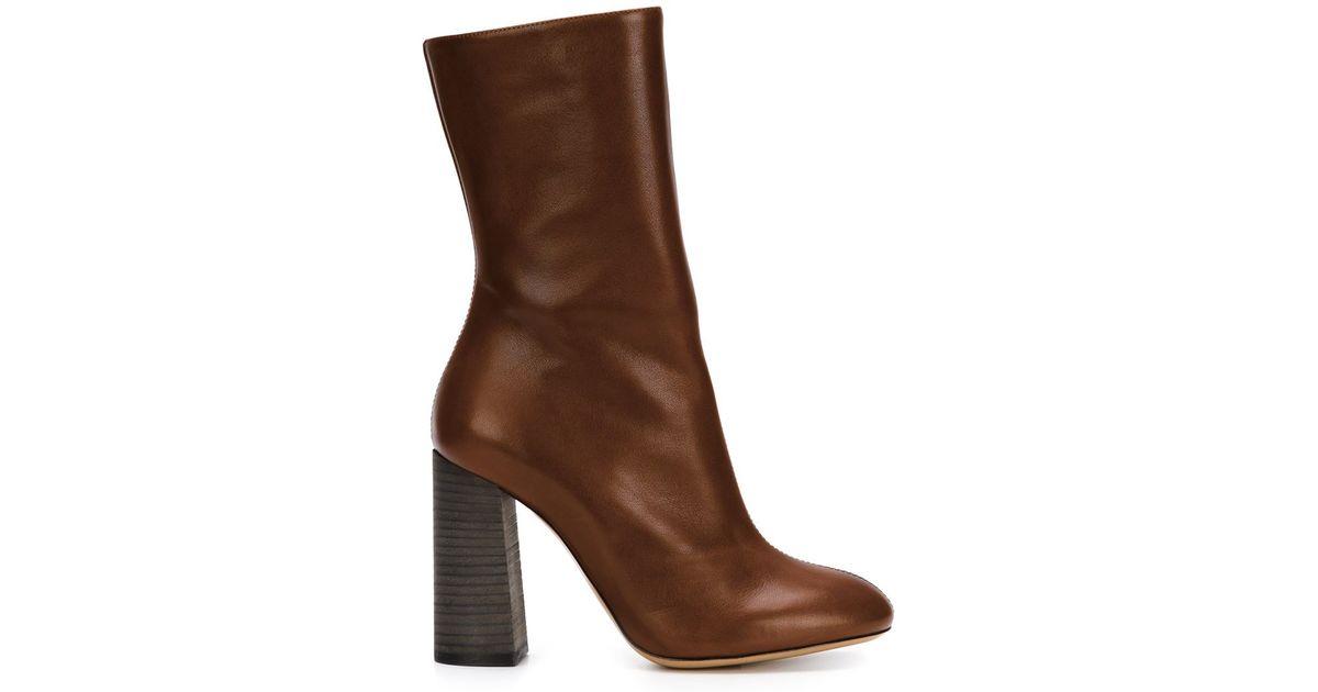 357761c9 Chloé Brown 'harper' Boots
