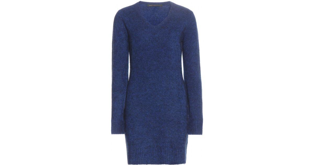 Marc By Marc Jacobs Super Yak Wool-blend Sweater Dress in ...