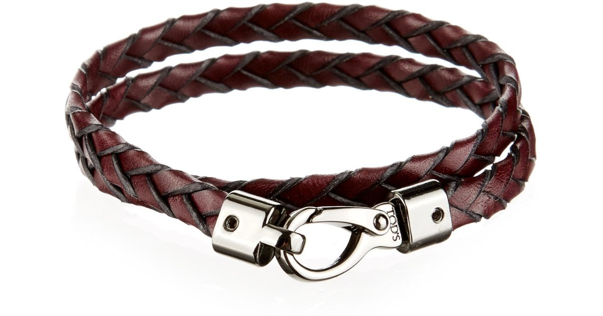 Braided leather bracelet Tod's