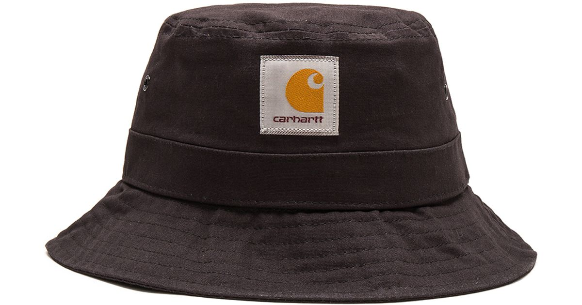 0388b9d9a20 Lyst Carhartt Wip Watch Bucket Hat In Black For Men