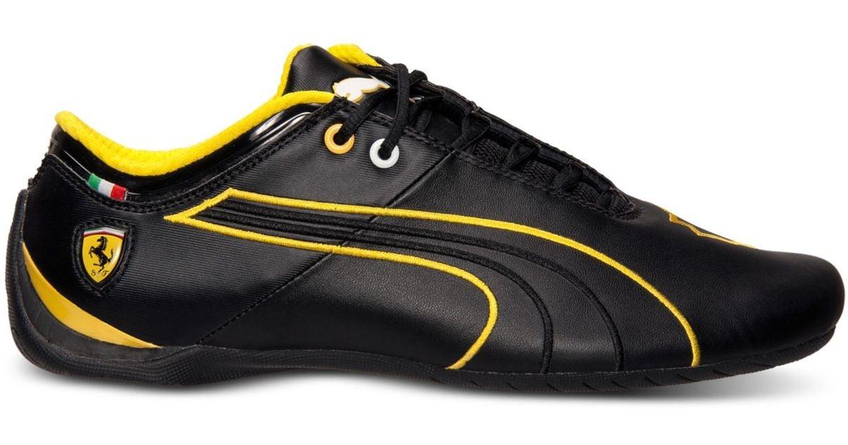 ba533da8bc9c Lyst - PUMA Men s Future Cat M1 Sf Ferrari Casual Sneakers From Finish Line  in Yellow for Men