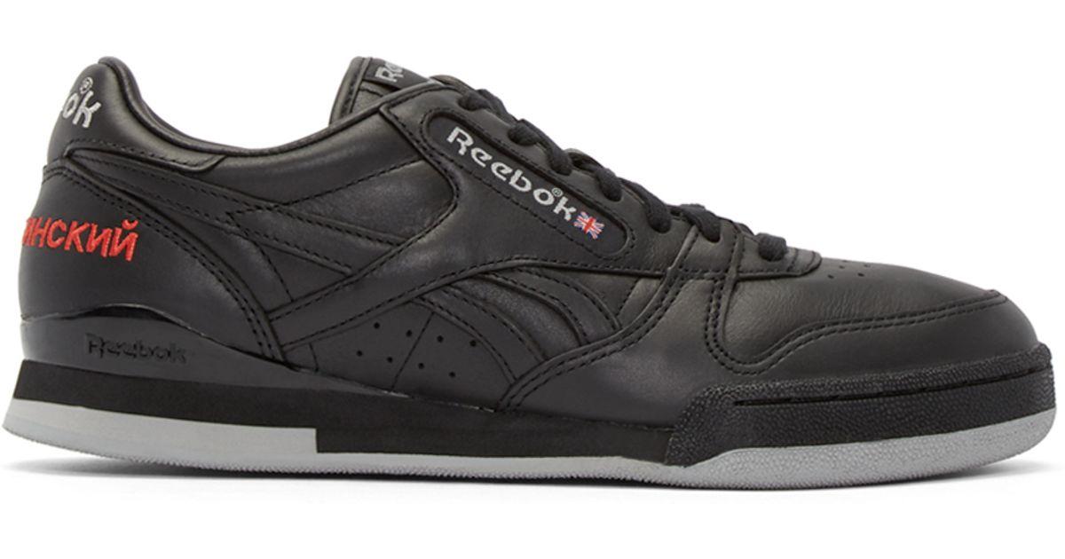 Black Reebock Shoes Womens