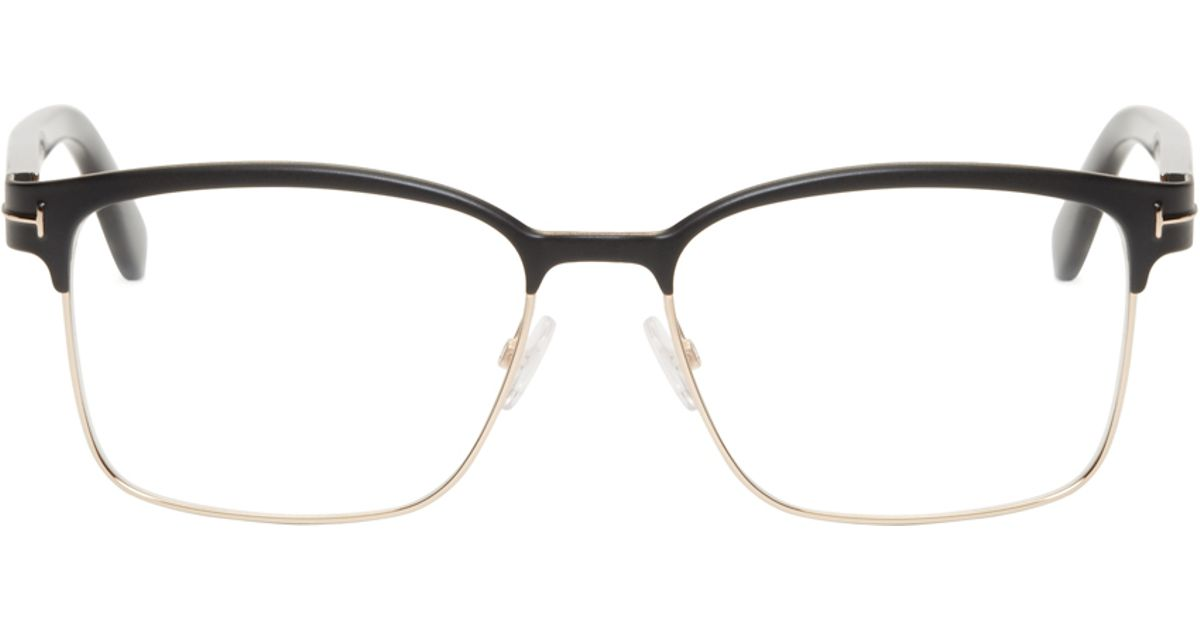 d214500d34c0 Tom Ford Black Horn Rim Tf5323 Optical Glasses in Black for Men - Lyst