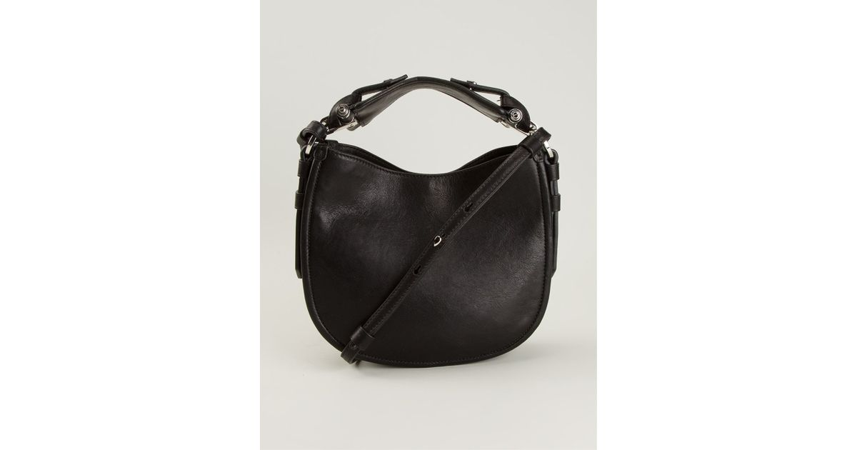 Lyst - Givenchy Obsedia Shoulder Bag in Black e7228b6c13