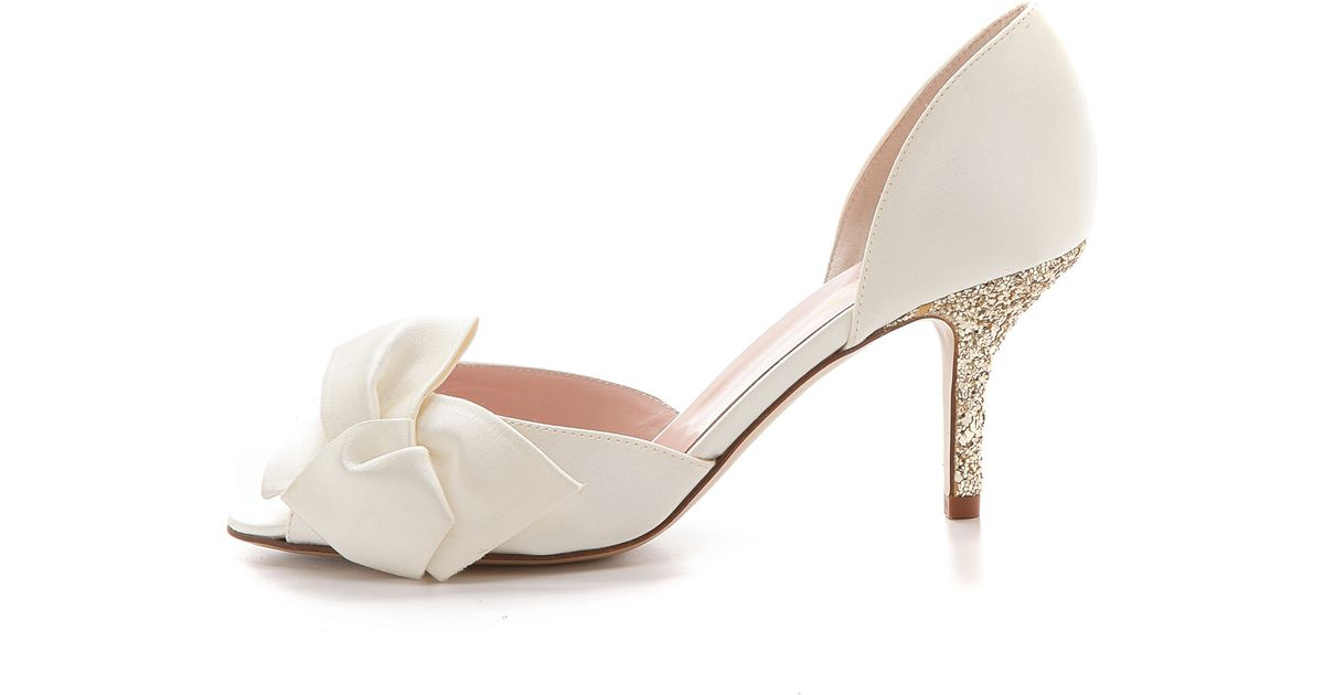 abfe2fe605bd Lyst - Kate Spade Sala D Orsay Pumps - Ivory in White