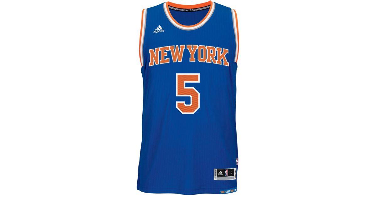 4452d640c Lyst - adidas Men s Tim Hardaway Jr. New York Knicks Swingman Jersey in Blue  for Men