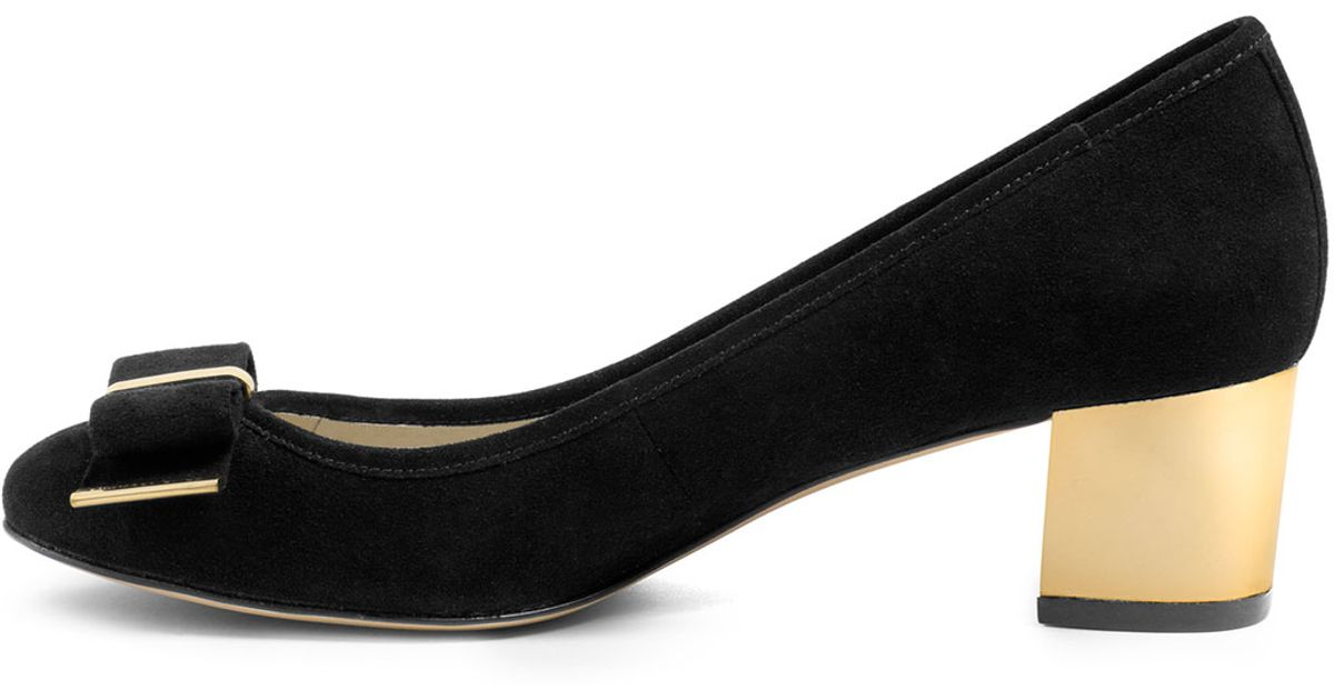 13bf3a80478c Michael Kors Black Suede Shoes - Image Of Shoes
