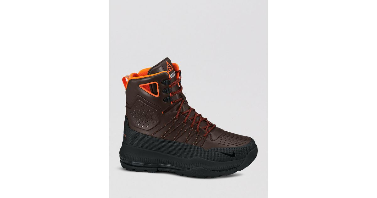 fa97969b7b7 Nike Brown Zoom Superdome Waterproof Boots for men