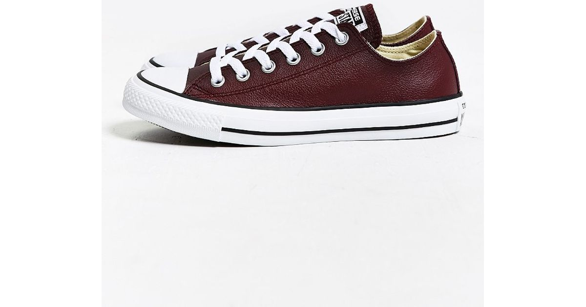 Lyst - Converse Chuck Taylor All Star Leather Low-top Sneaker in Purple for  Men 2b59295e4