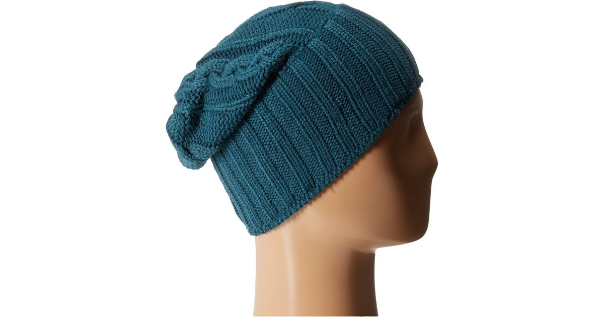 Lyst - Nike Cable Knit Beanie in Blue for Men f17e9ce355f