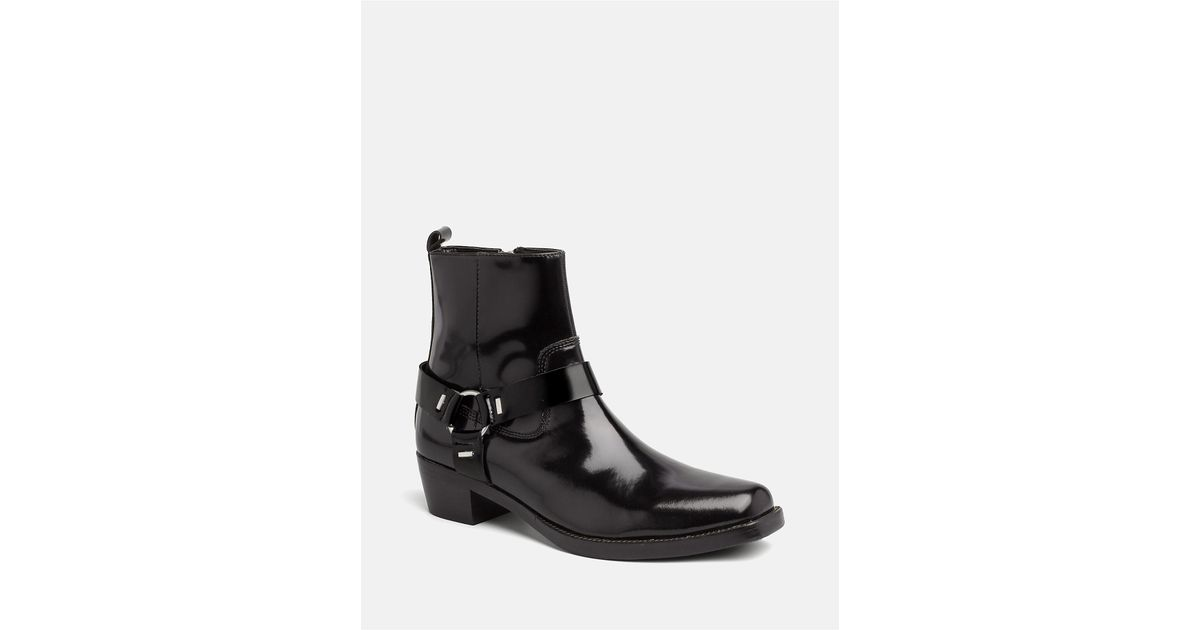 d79a290864f CALVIN KLEIN 205W39NYC Black Beck Cowboy Boot