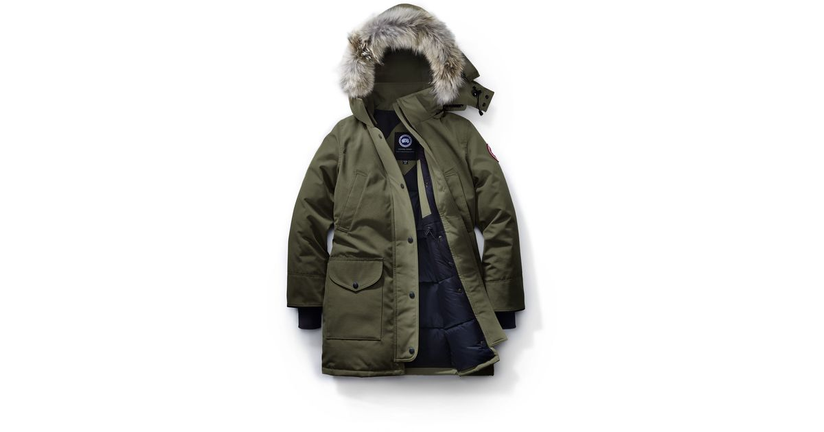 Canada Goose womens online shop - Canada goose Trillium Parka Fusion Fit in Green for Men (Military ...