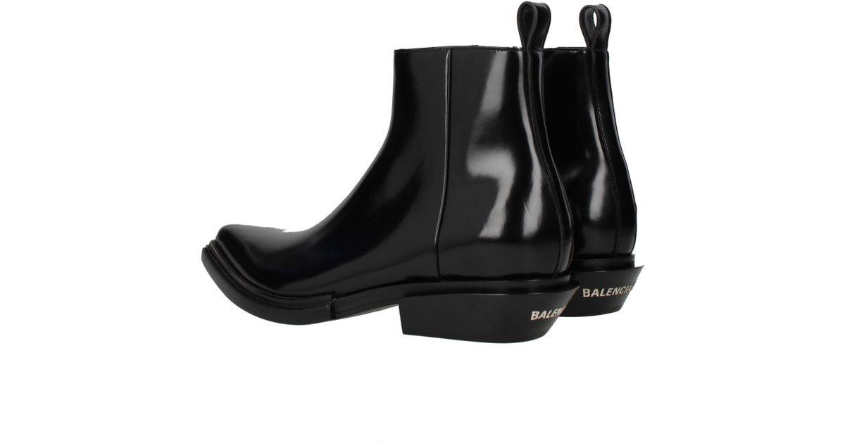 1a65cefd6a0cb Balenciaga Ankle Boots Jive Men Black in Black for Men - Lyst