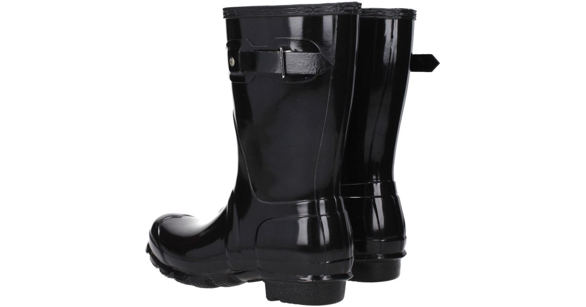 b0c90a347bc Hunter - Ankle Boots Women Black - Lyst