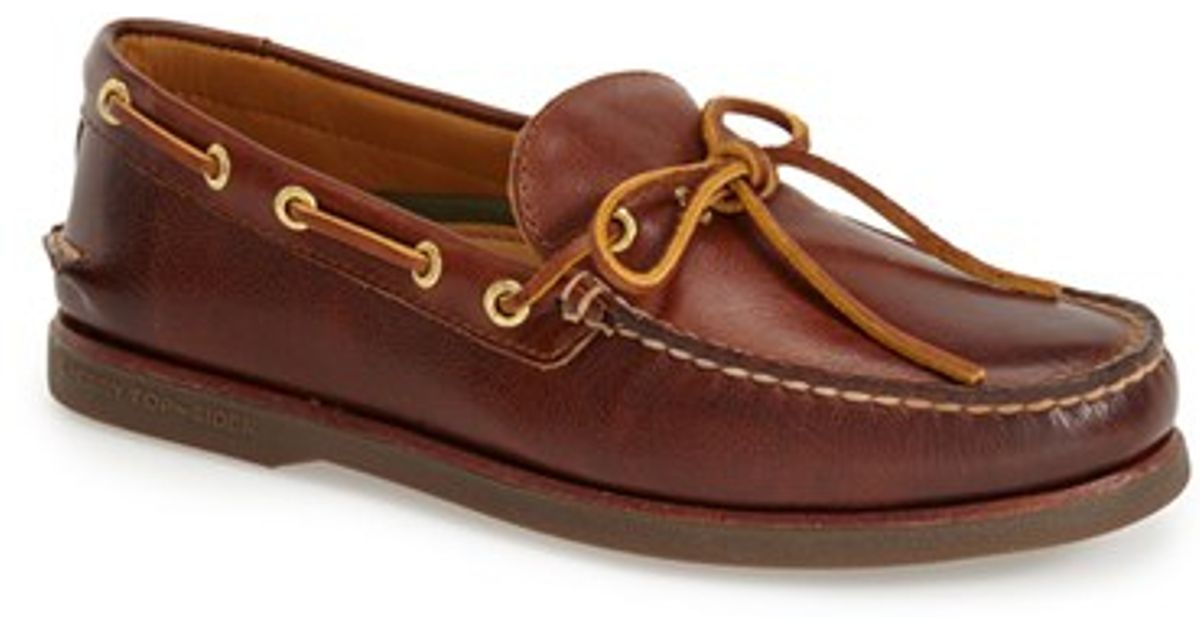 SPERRY TOP-SIDER GOLD Cup Men's Boat Shoes Leather Cognac US Z - $ Inventory #: Z Payment:Payment is expected through PayPal within three days of purchase. Shipping:We ship all items within one business day of your .